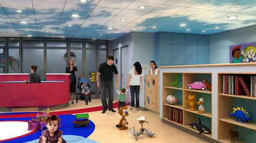 ●Babies and Tots Area